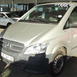 2013 Mercedes-Benz Vito 116 CDI crewcab